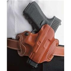 Desantis Mini Slide Holster - Owb Rh Leather Fn 503 Tan