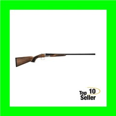 "EAA 111344 Akkar 512 Field 28 Gauge 26"" 3"" Silver Walnut Right Hand"