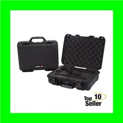NANUK (PLASTICASE INC) 910-CLASG1 910 Classic 2 Up Pistol Case Black...