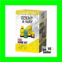 Hunters Specialties 100097 Scent-A-Way Max Home Kit Odor Eliminator...