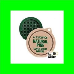 Hunters Specialties 01024 Scent Wafers Cover Scent Pine 3 Per Pack