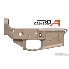 NIB Aero Precision M4E1 Lower - FDE CERAKOTE - No Reserve