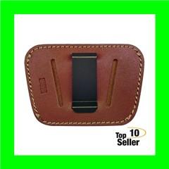 Homeland HL035BRN Concealment IWB/OWB Med/Lg Frame Auto Leather Brown