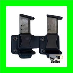 Comp-Tac Twin Mag Pouch Fits HK P30/P30L/VP9,40/P2000/P2000SK 9mm...