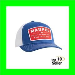 Magpul MAG1102-423 Go Bang Trucker Hat Royal Heather Front w/White Mesh...