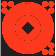 Birchwood Casey Llc Target Spots Self-Adhesive Red