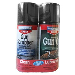 Birchwood Casey Llc Gun Scrubber Gun Oil Combo