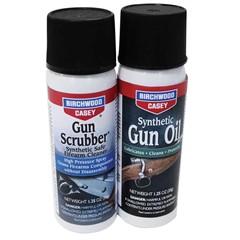 Birchwood Casey Llc Gun Oil Aerosol Combo Gun Scrubber