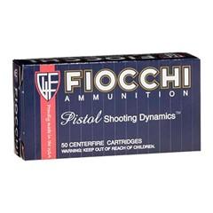 Fiocchi Pistol Shooting Dynamics 9mm Luger 50BX