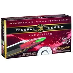 Federal Big Game  .300 Win. mag