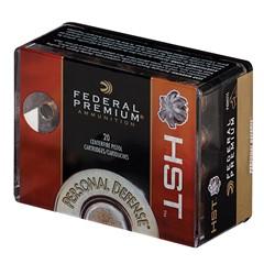 Federal HST  9mm Luger