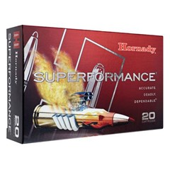 Hornady GMX Superformance .300 Win. mag 20BX