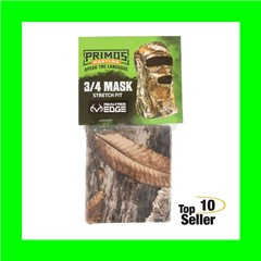 Primos PS6668 Stretch Fit 3/4 Face Realtree Edge