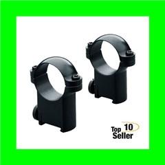 """Leupold 49943 Ringmount Rings Sako 1"""" Super High Black"""