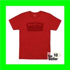 Magpul MAG1111-610-3X Go Bang Parts Red 3XL Short Sleeve