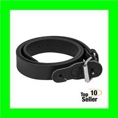 "1791 Gunleather BLT014448SBLA Gun Belt 01 44""-48"" Leather Stealth Black"