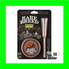 Primos PS2903 Rare Breed Wood Grain Wild Turkey Hand Glass Pot Call