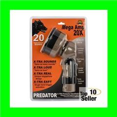 Cass Creek Mega Amp 20X Predator Amplifier 20 Preset Calls AA (4)...