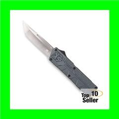 "Cobra Tec Knives CFCTLWTNS Lightweight 3.25"" D2 Steel Tanto Aluminum..."