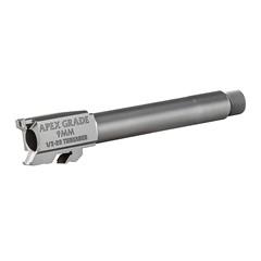 """Apex Tactical Specialties 9mm 4.25"""" 1:10 Barrel - Silver"""