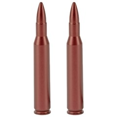 A-Zoom 270 Winchester Aluminum Snap Caps - 2Pk - Red