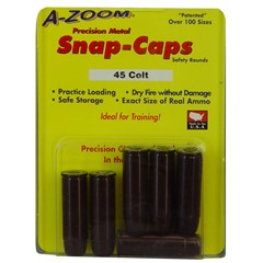 A-Zoom 45 Long Colt Aluminum Snap Caps - 6Pk - Red