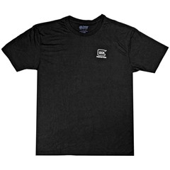 Glock Short Sleeve T-Shirt Cotton Tee Shirt Large - Black