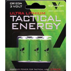 Viridian Battery - 3/Pack - Green