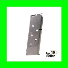 Springfield Armory PI4726 1911 45 ACP 6 Silver Detachable