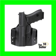 Uncle Mikes 54CCW49BGL CCW Black OWB Ruger LCR/EC9 Left Hand