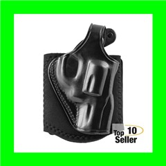 Galco AG296B Ankle Glove Black Leather Ankle Sig P239 Right Hand