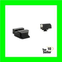 Truglo TG231W1W Tritium Pro Night Sights Walther P99/PPQ Green Tritium...