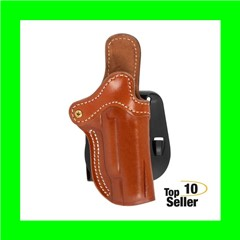 """1791 Gunleather ORPDH1CBRR PDH-1 Classic Brown Leather OWB 1911 4-5""""..."""