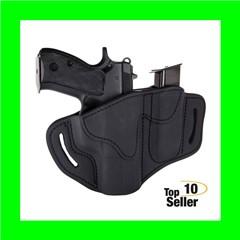 1791 Gunleather BH21M12SBLR BH2.1M1.2 Stealth Black Leather OWB Glock...