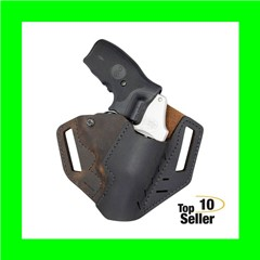 Versacarry REV201 Revolver Distressed Brown Buffalo Leather OWB S&W J...