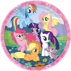 My Little Pony Friendship Magic Dinner Plates a test product
