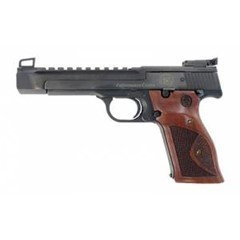 """S&W 41OR 5.5\"""" 22LR BL HB WD GRIPS  - New"""