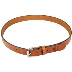 """1791 Gun Belt Leather 42""""-46"""" - Brown"""