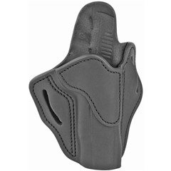 1791 1911 OR Right Hand Leather, Kydex Belt Holster - Black