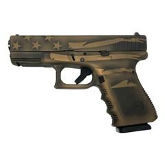 Glock 19 Gen 3 - UI1950204-BBBWFLAG 9 MM Handgun