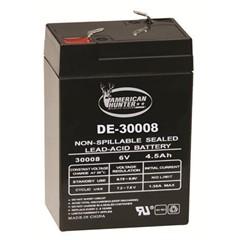 DE-30008 6V 4.5 amp Rechargeable-Bulk