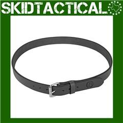 "1791 Gun Belt Leather 42-46"" - Stealth Black"