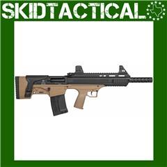 "American Tactical Bulldog Bullpup 18.5"" 12 Gauge 3"" 5rd Iron Sights - Black"