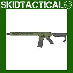 "Black Rain Ordnance Billet Rifle AR 16"" 5.56 NATO 30rd - Green"