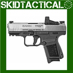 "Canik TP9 Elite SC 3.6"" 9mm 15rd Warren Tactical - Black, Tungsten"