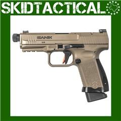 "Canik TP9SF Combat Striker Fired 4.78"" 9mm 18rd Fiber Optic Front Sight - F"