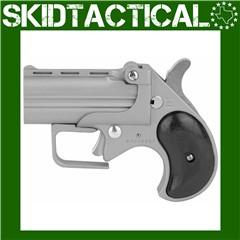 "Bearman Industries CB9 Big Bore Derringers 2.75"" 9mm 2rd Fixed Sights - Sil"