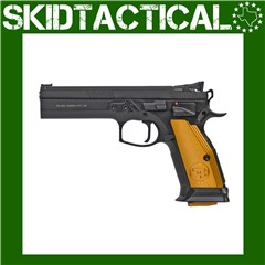 """CZ 75 Tactical Sport Single Action Only 5.2"""" 40 S&W 17rd Adjustable Sights"""