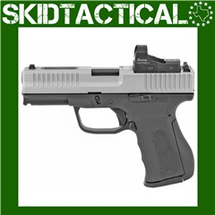 """FMK 9C1 Elite Pro Striker Fired 4"""" 9mm 14rd Fixed Sights - Silver"""