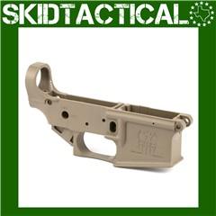 FMK AR-1 Stripped Lower Receiver 223 Remington 556NATO - Flat Dark Earth